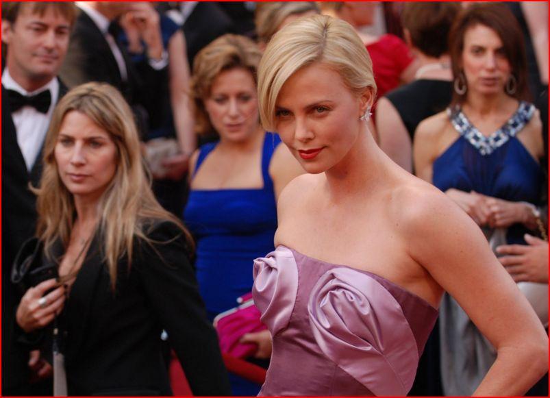 Filmstjärnan Charlize Theron